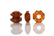 Stöckelstulpen New Diamond Rings Amber
