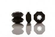 "Stöckelstulpen New Diamond Rings Onyx ""M"""