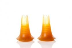 Stöckelstulpen Classic amber